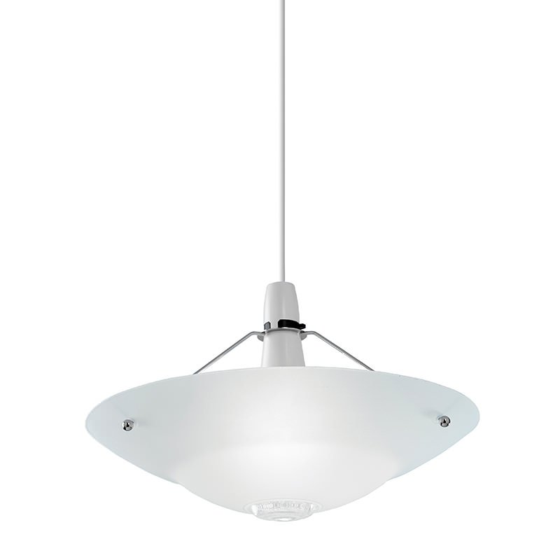 Endon-NE-81 - Pisa - Frosted Glass Shade for GLS Hanging Pendant