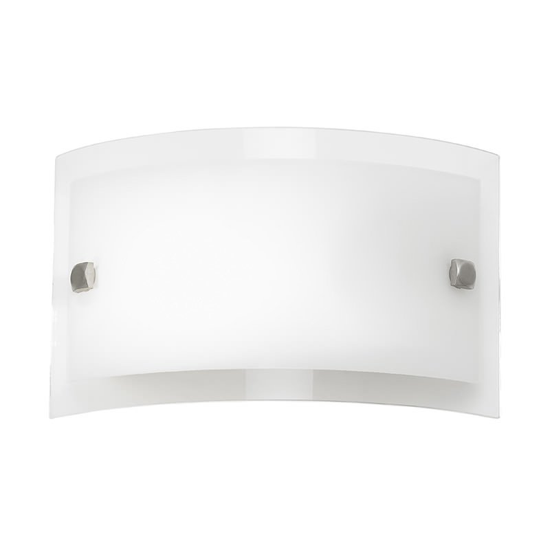 Endon-095-20 - Phelps - Clear and Frosted Glass Wall Lamp