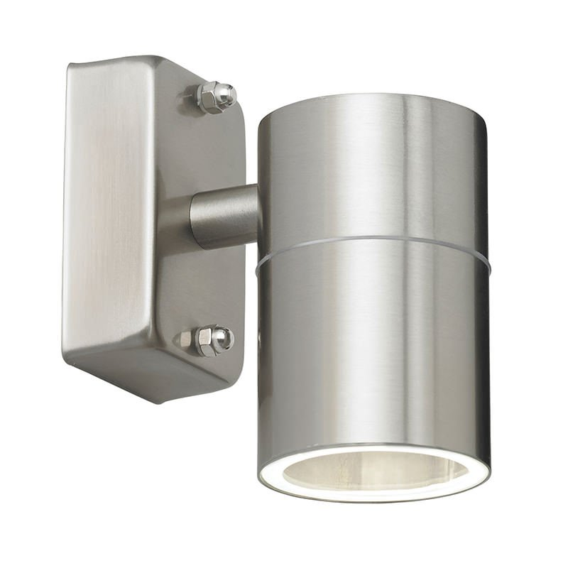 Endon-EL-40094 - Canon - Stainless Steel Downlight Wall Lamp