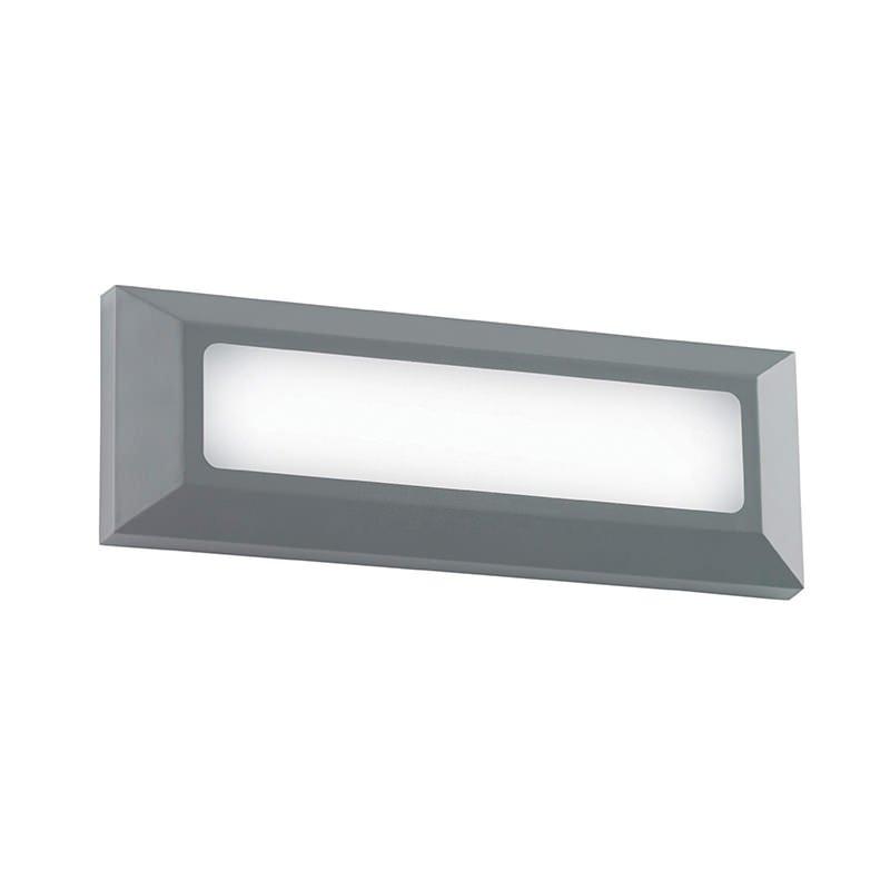 Saxby-EL-40103 - Severus - LED Grey Surface Brick Light