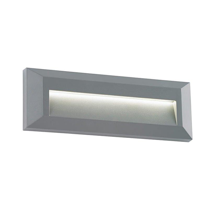 Saxby-EL-40104 - Severus - LED Grey Downlight Surface Brick Light