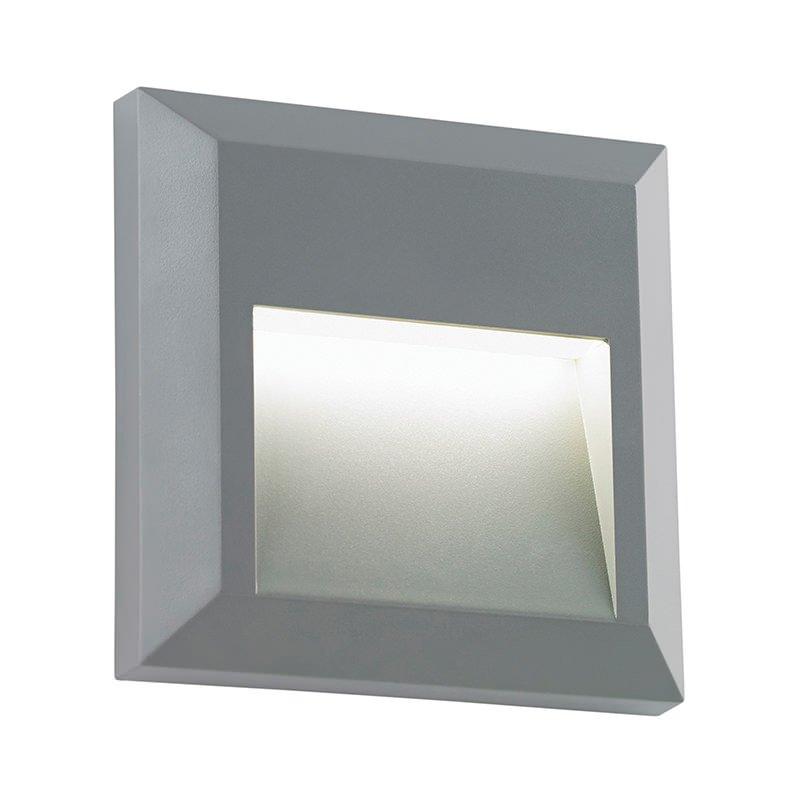Saxby-EL-40107 - Severus - LED Grey Surface Downlight Square Brick Light