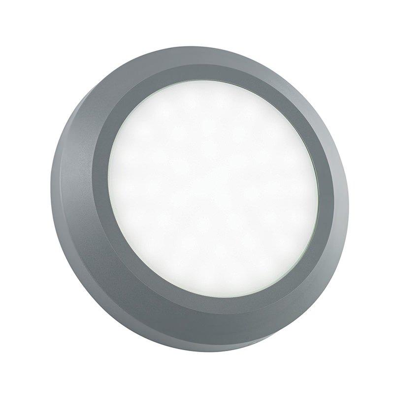 Saxby-EL-40108 - Severus - LED Grey Surface Round Brick Light