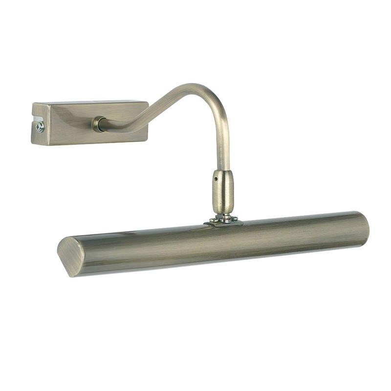 Endon-PL-LEDG9-AN - Linton - Antique Brass Picture Lamp