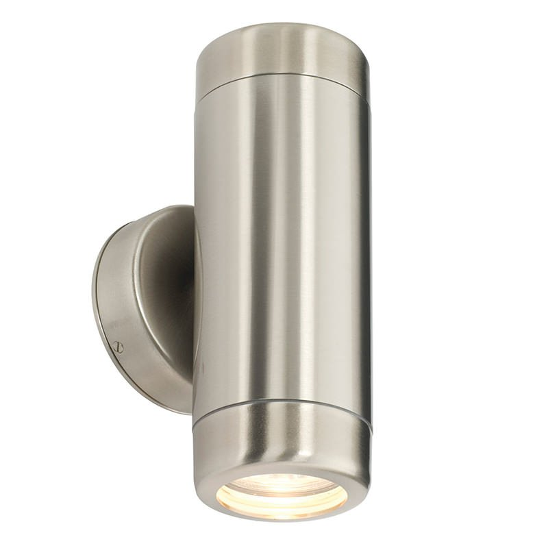 Saxby-14015 - Atlantis - Marine Grade Stainless Steel Up&Down Wall Lamp