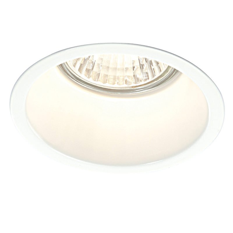 Saxby-48869 - Peake - Gloss White Recessed Light