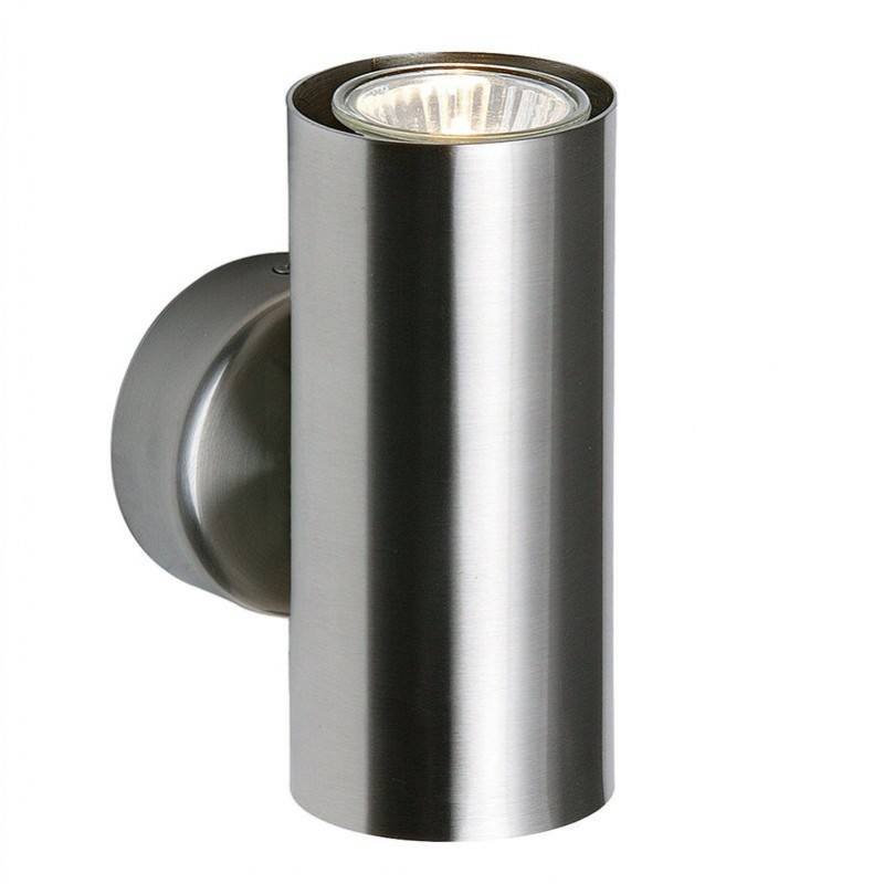 Saxby-OD51004 - Odi - Satin Nickel Up & Down Wall Lamp