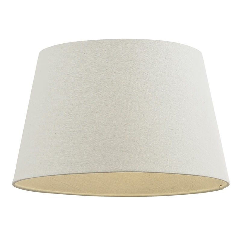 Endon-CICI-10IV - Cici - 10 inch Ivory Linen Shade for Pendant or Table Lamp