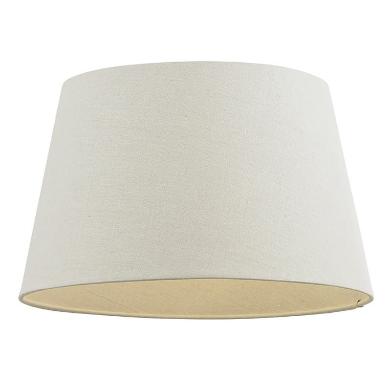 Endon-CICI-12IV - Cici - 12 inch Ivory Linen Shade for Table Lamp