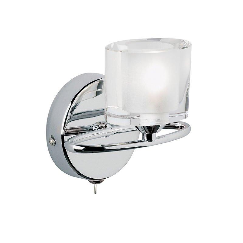 Endon-91181 - Sonata - Crystal with Chrome Wall Lamp