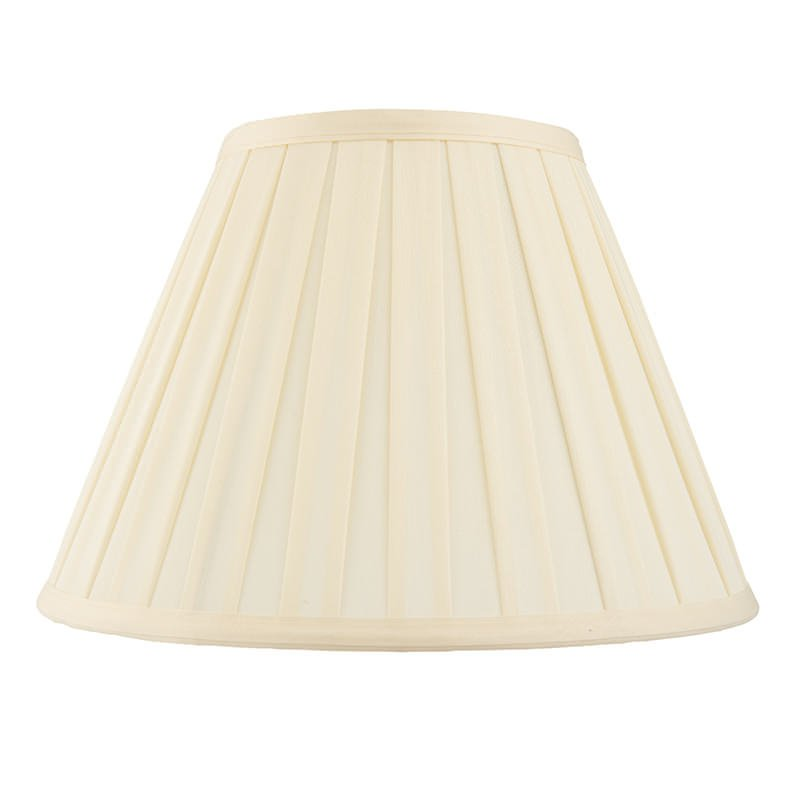 Endon-CARLA-22 - Carla - 22 inch Cream Tapered Drum Shade for Table Lamp