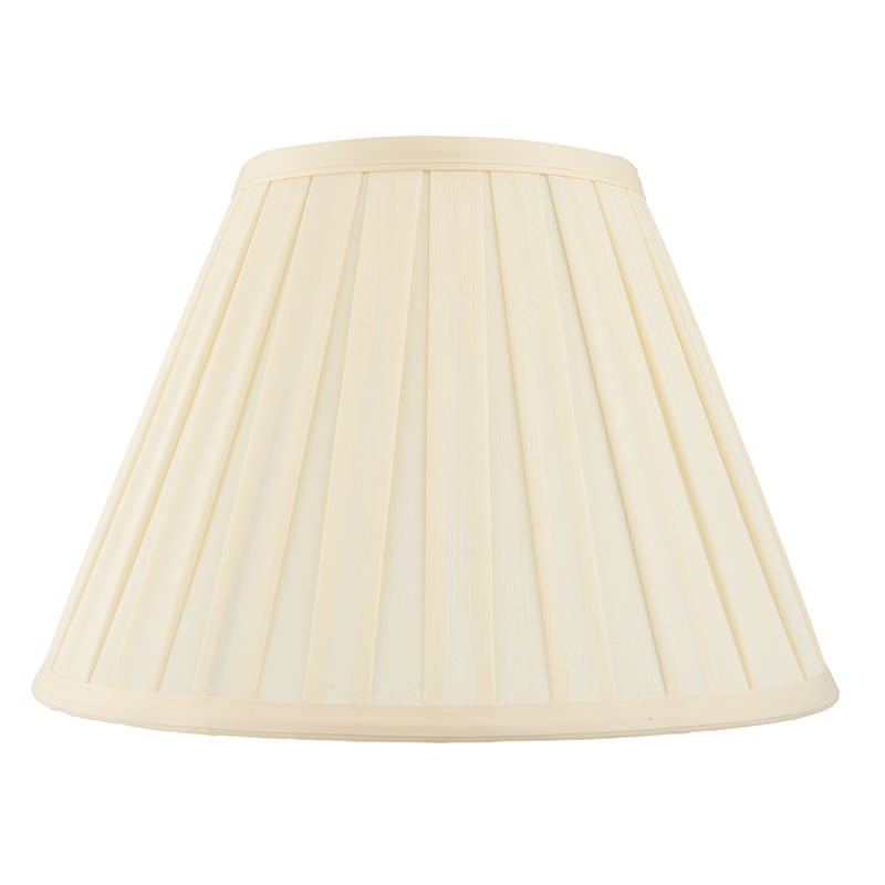 Endon-CARLA-6 - Carla - Shade Only - 6 inch Cream Tapered Drum Shade