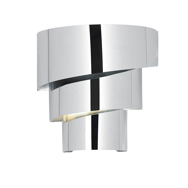 Endon-EVERETT-1WBCH - Everett - Polished Chrome Metal Wall Lamp