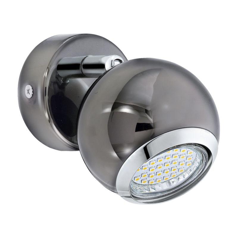 Eglo-31005 - Bimeda - Black Nickel and Chrome Single Spotlight