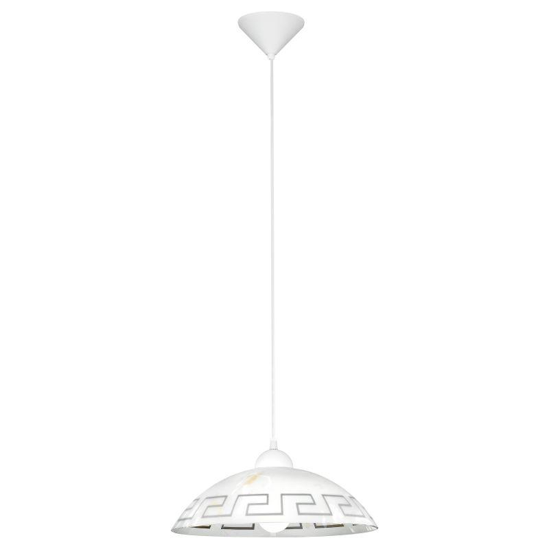Eglo-82786 - Vetro - Decorative Marble Single Hanging Pendant
