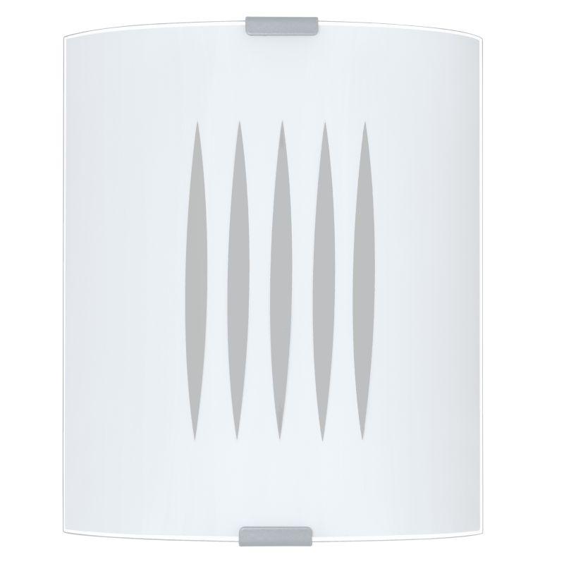 Eglo-83132 - Grafik - Decorative Square Glass Wall Lamp