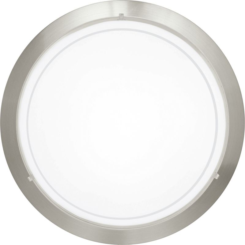 Eglo-83162 - Planet 1 - Small Matt Nickel with Glass Ceiling Lamp