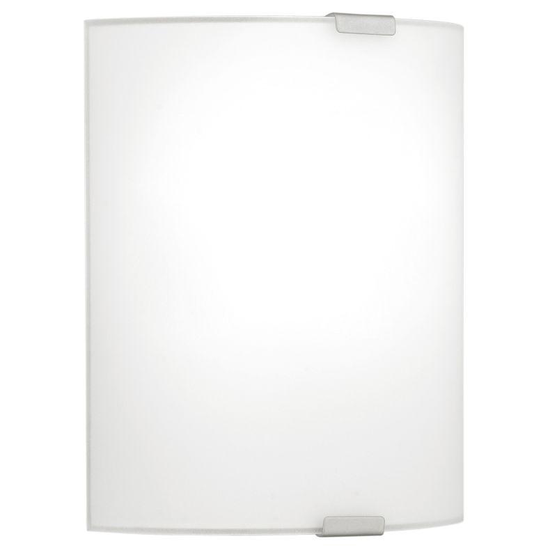 Eglo-84028 - Grafik - Small Satined White Glass Wall Lamp