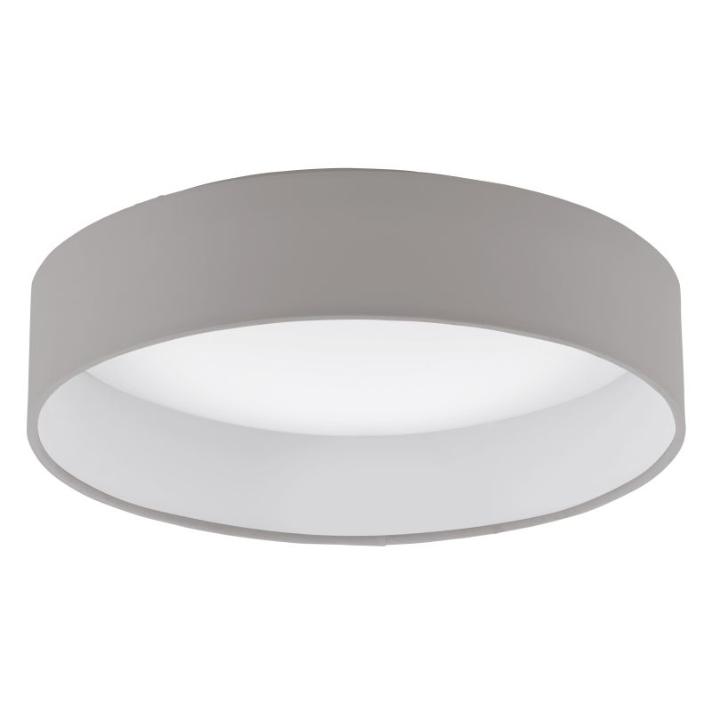 Eglo-93949 - Palomaro - LED Taupe with Diffuser Small Ceiling Lamp
