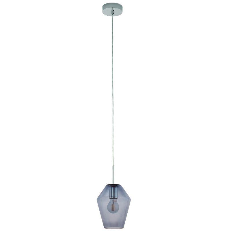 Eglo-96773 - Murmillo - Mirrored Glass with Chrome Single Pendant