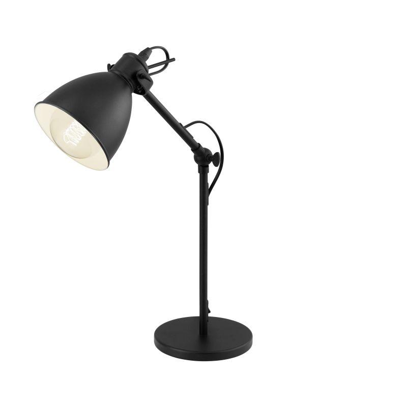 Eglo-49469 - Priddy - Vintage Black Metal Table Lamp