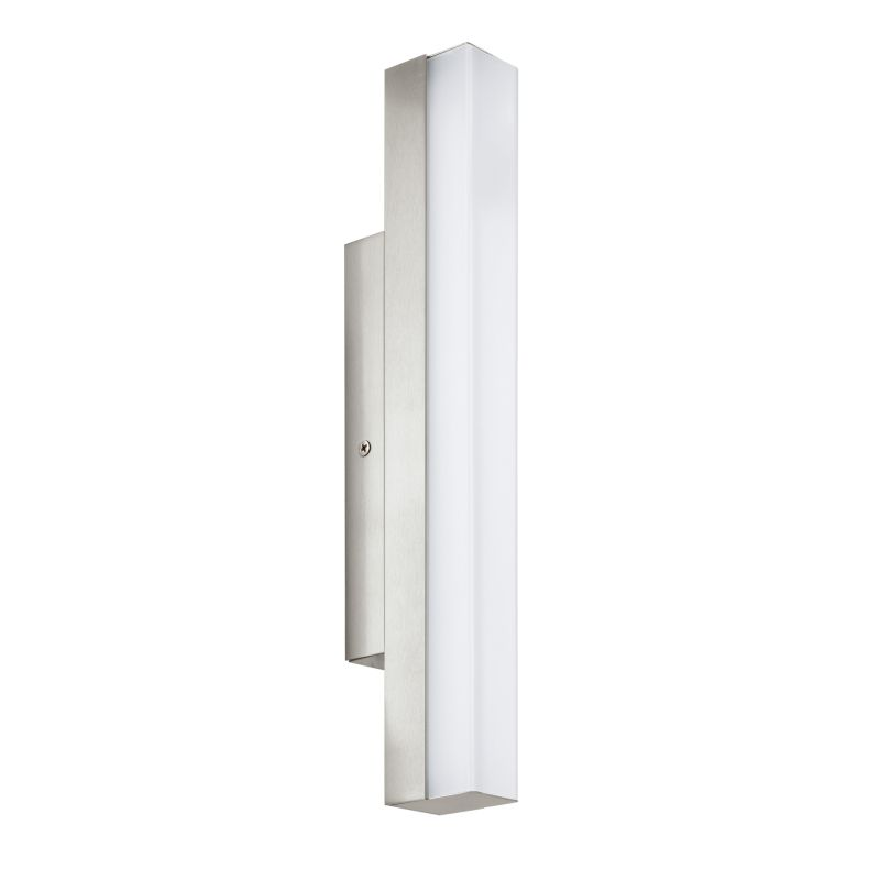 Eglo-94616 - Torretta - Bathroom LED White and Nickel over Mirror Small Wall Lamp