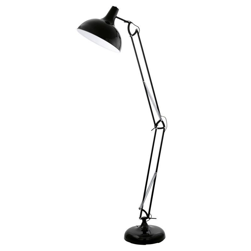 Eglo-94698 - Borgillio - Black Floor Lamp
