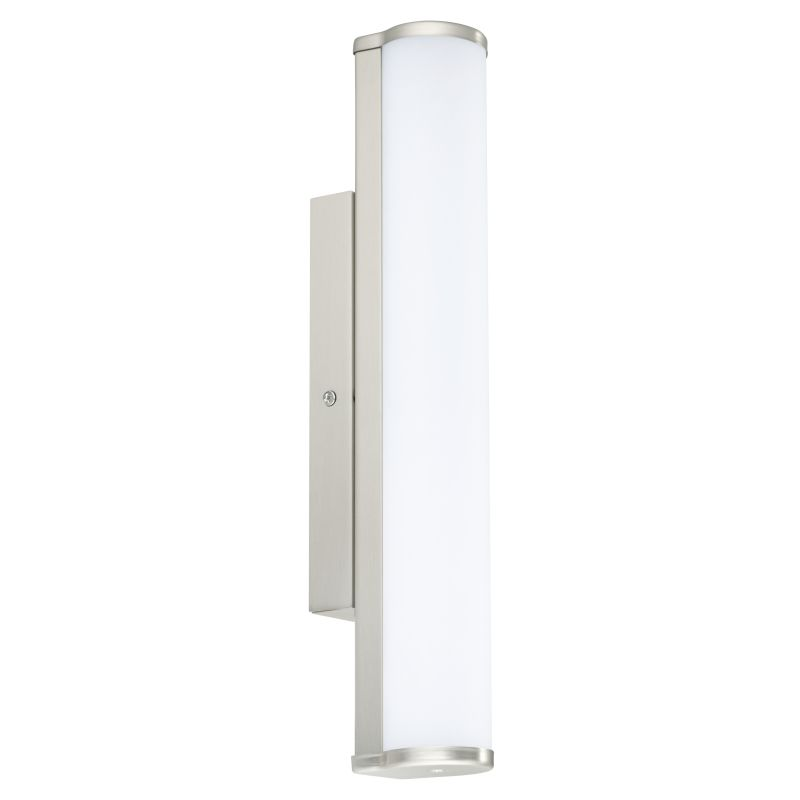 Eglo-94715 - Calnova - Bathroom LED White and Nickel over Mirror Small Wall Lamp