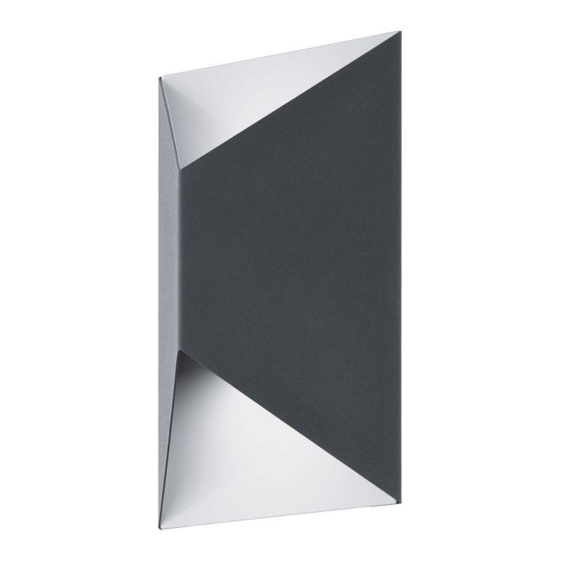 Eglo-93994 - Predazzo - Outdoor LED Galvanized Grey Wall Lamp