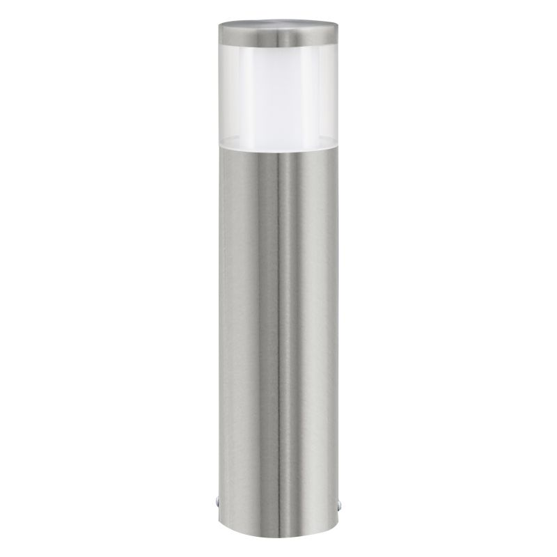 Eglo-94278 - Basalgo 1 - LED Stainless Steel with Clear Small Bollard