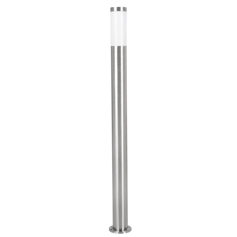 Eglo-81752 - Helsinki - Stainless Steel with White Diffuser Big Bollard