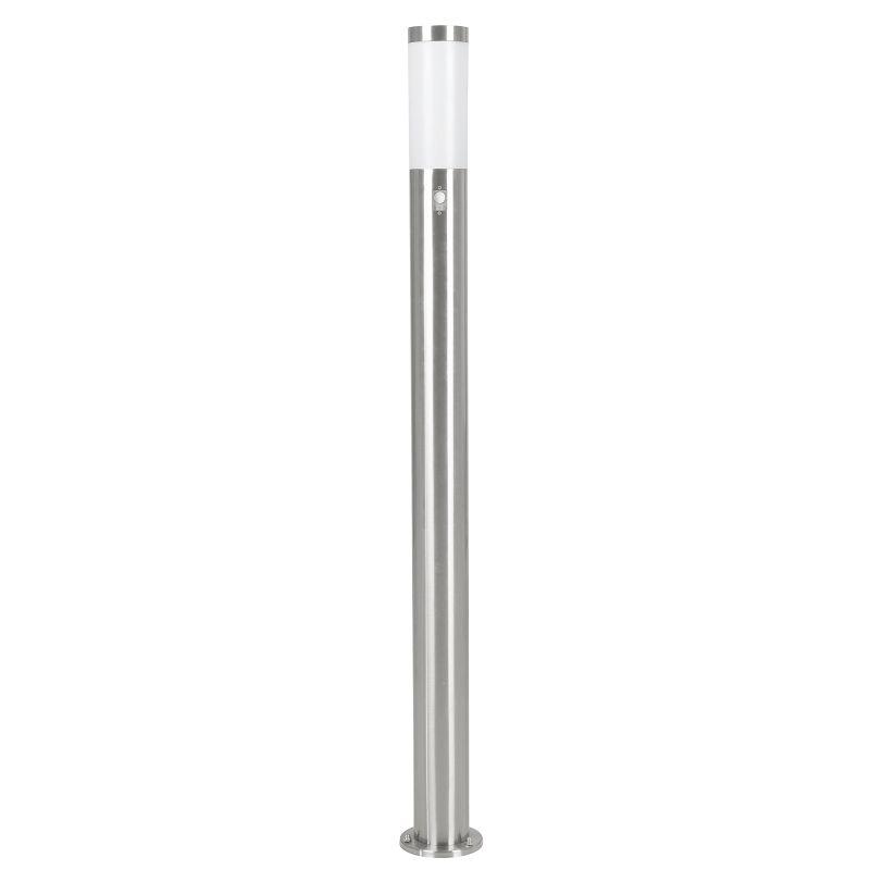 Eglo-83281 - Helsinki - Stainless Steel with White Diffuser Big Sensor Bollard