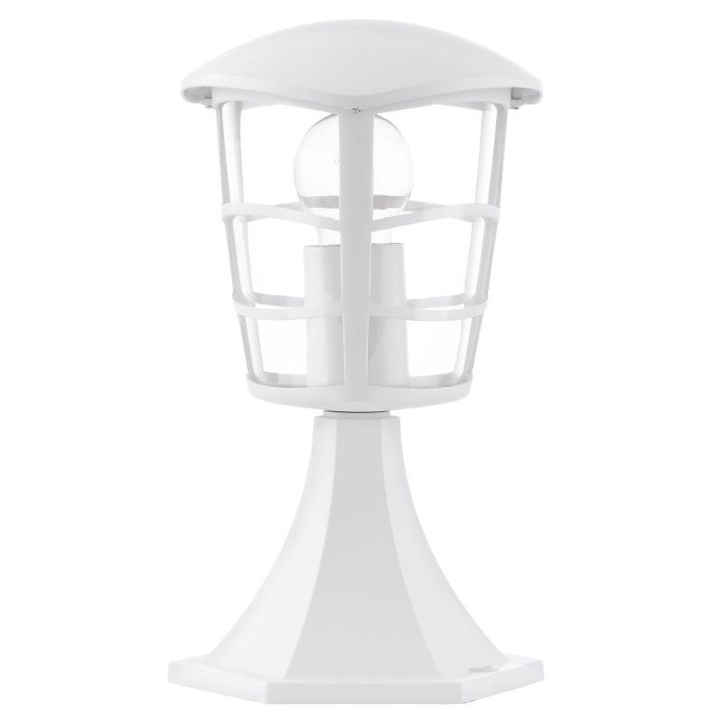 Eglo-93096 - Aloria - White with Clear Acrylic Small Post