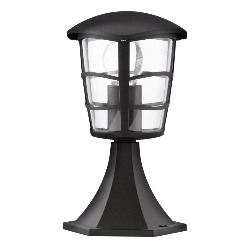 Eglo-93099 - Aloria - Black with Clear Acrylic Small Post
