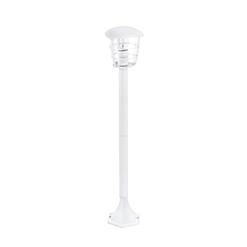 Eglo-93404 - Aloria - White with Clear Acrylic Medium Post