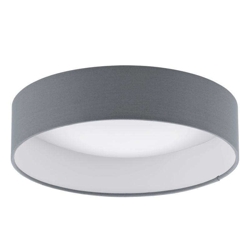 Eglo-93395 - Palomaro - LED Dark Grey with Diffuser Small Ceiling Lamp