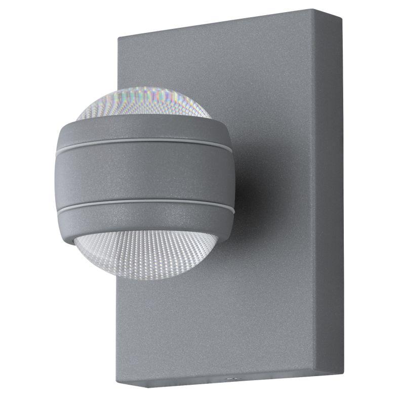 Eglo-94796 - Sesimba - Outdoor LED Grey Up&Down Wall Lamp