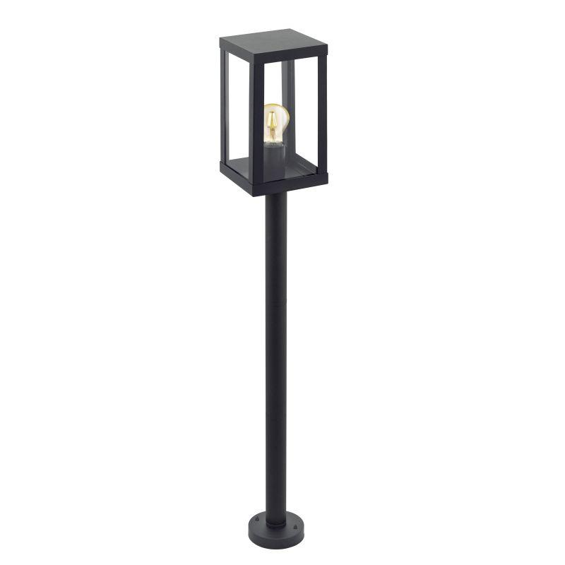 Eglo-94833 - Alamonte 1 - Outdoor Black Lantern Post