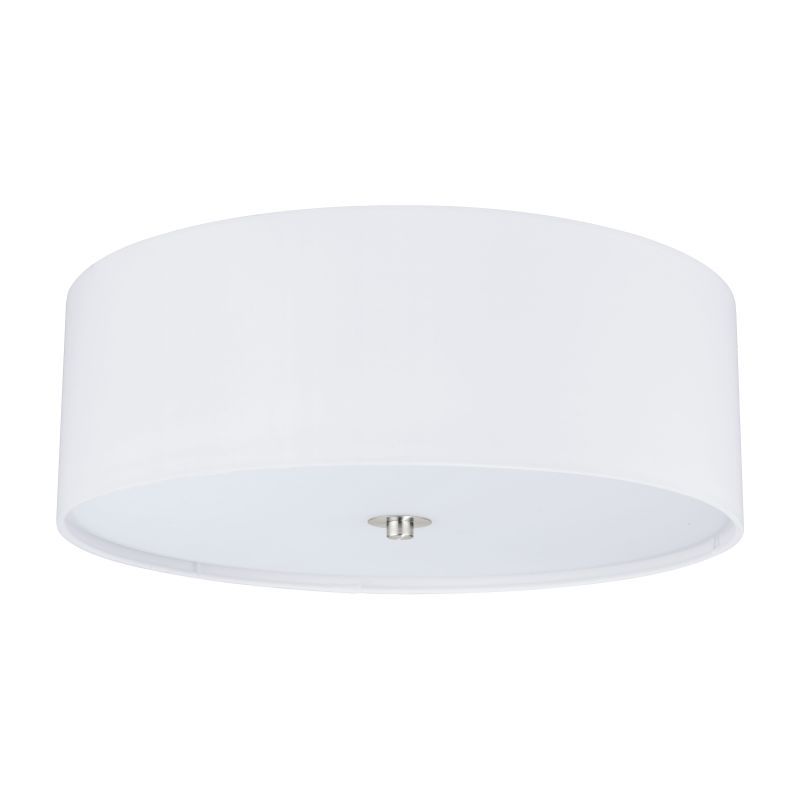 Eglo-94918 - Pasteri - White with Glass Diffuser Ceiling Lamp