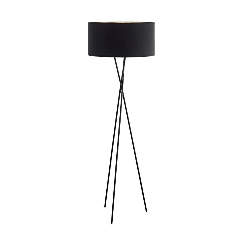 Eglo-95541 - Fondachelli - Black & Copper with Black Tripod Floor Lamp