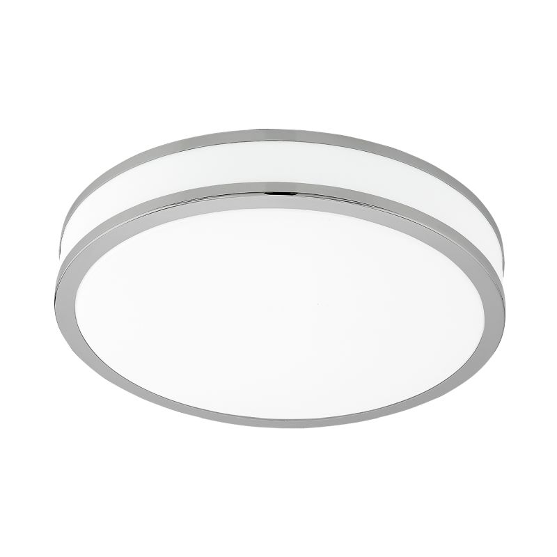 Eglo-95684 - Palermo 2 - LED White with Polished Chrome Ceiling Lamp