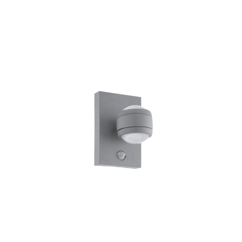 Eglo-96019 - Sesimba 1 - Outdoor LED Grey Up&Down Sensor Wall Lamp