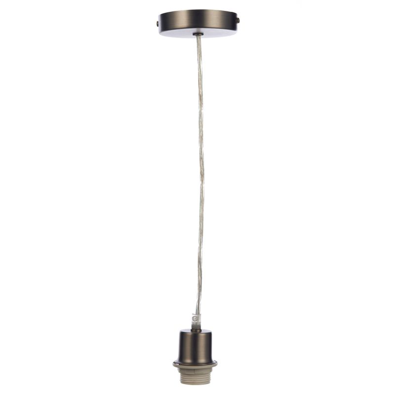 Dar-SP61 - Cord set - Antique Chrome E27 Suspension