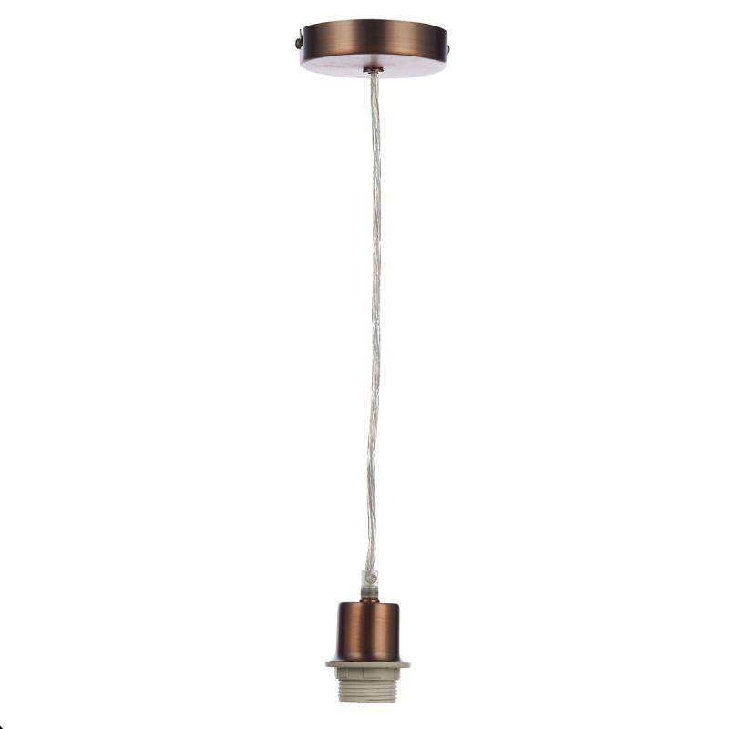 Dar-SP64 - Cord set - Old Copper E27 Suspension