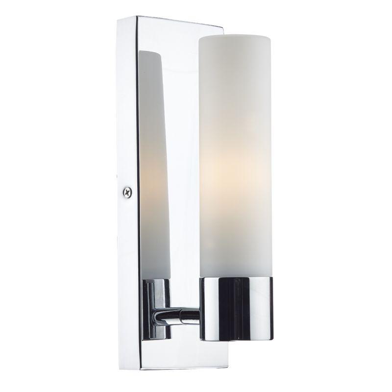 Dar-ADA0750 - Adagio - Bathroom Polished Chrome Single Wall Lamp
