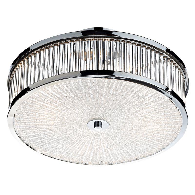 Dar-ARA5250 - Aramis - Decorative Diffuser with Glass Rod 3 Light Ceiling Lamp