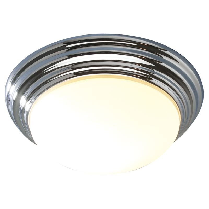 Dar-BAR5250 - Barclay - Small Bathroom Polished Chrome Ceiling Lamp