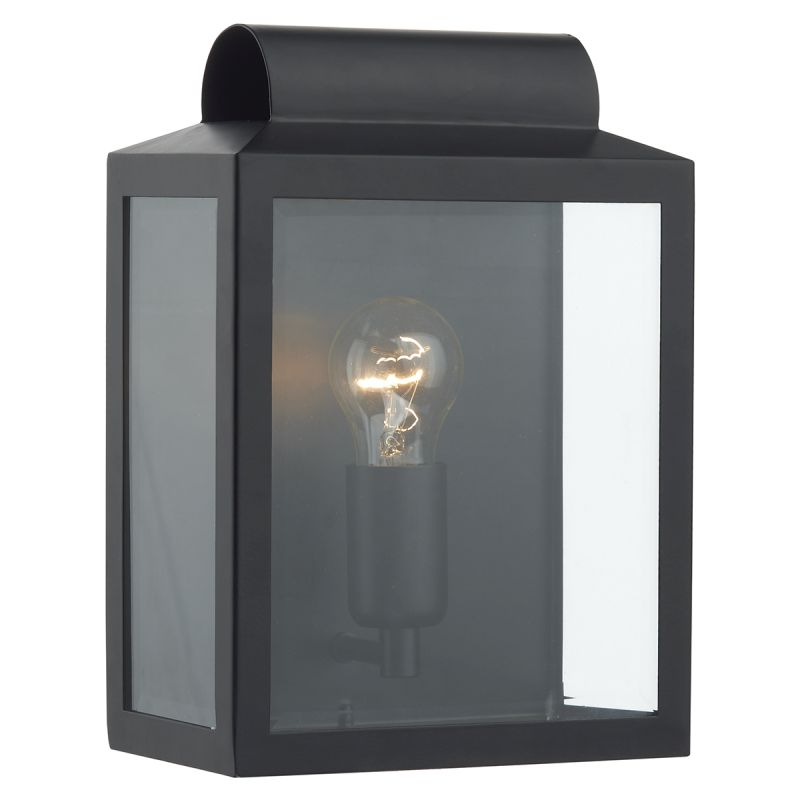 Dar-NOT2122 - Notary - Outdoor Big Black Lantern Wall Lamp