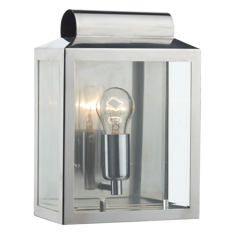 Dar-NOT2144 - Notary - Outdoor Big Stainless Steel Lantern Wall Lamp