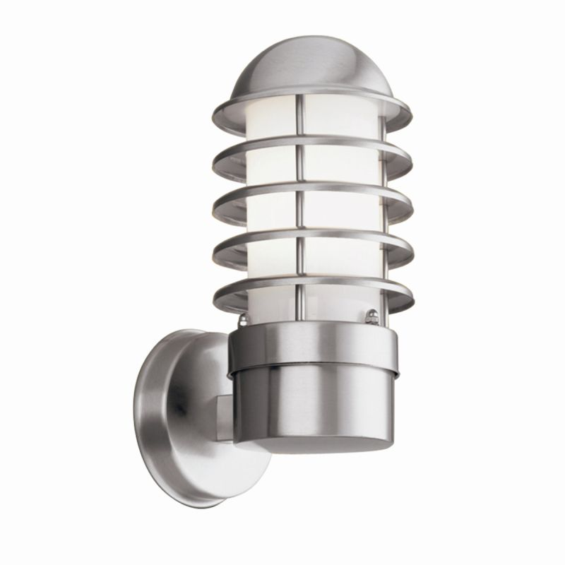 Searchlight-051 - Louvre - Outdoor Stainless Steel Wall Lamp